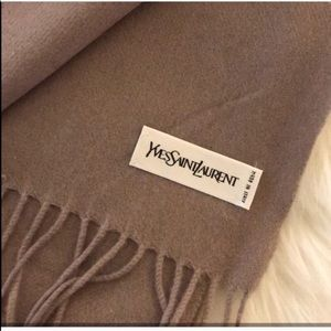 $595 YSL Scarf + FREE Gift Box & Wrapping
